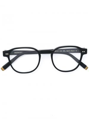 Очки Arthur Moscot. Цвет: чёрный