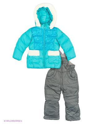 Комплект одежды SNOWIMAGE. Цвет: морская волна