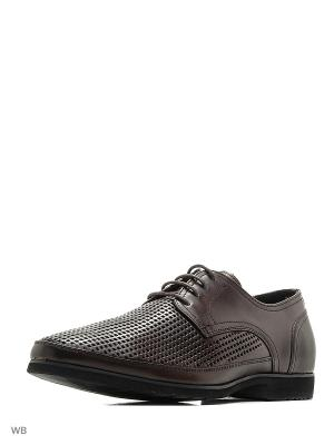 Туфли THOMAS MUNZ. Цвет: темно-коричневый