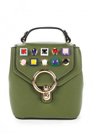 Рюкзак Baggini. Цвет: зеленый