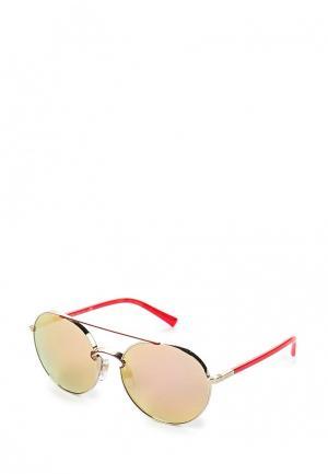 Очки солнцезащитные Valentino. Цвет: золотой