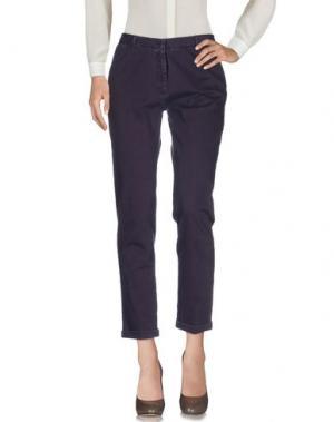 Повседневные брюки MONOCROM. Цвет: фиолетовый