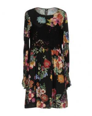 Короткое платье NOLITA. Цвет: черный