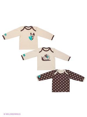 Комплект Lucky Child. Цвет: коричневый, бежевый
