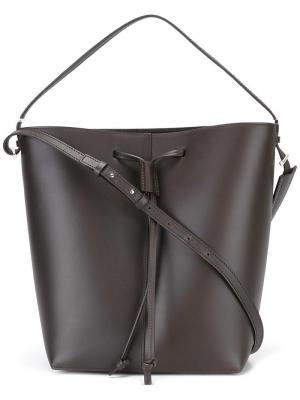 Сумка-мешок на плечо Pb 0110. Цвет: коричневый