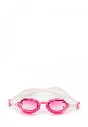 Очки для плавания Speedo. Цвет: розовый