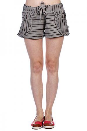 Шорты классические женские  Lani Short Grey Ezekiel. Цвет: серый