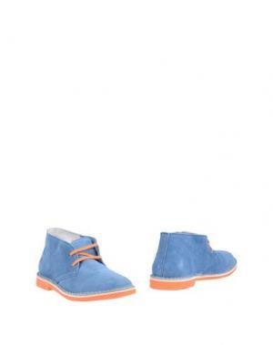 Полусапоги и высокие ботинки WALLY WALKER. Цвет: пастельно-синий
