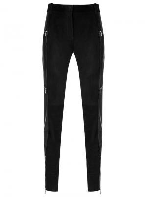 Leather skinny trousers Reinaldo Lourenço. Цвет: чёрный