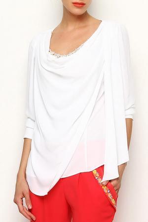 Блуза Ludomara fashion. Цвет: белый
