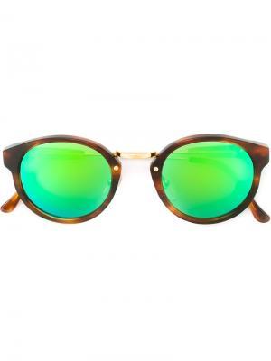 Солнцезащитные очки Panamà Cove II Retrosuperfuture. Цвет: коричневый