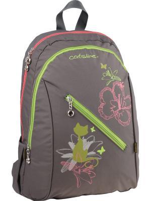 Рюкзак  Beauty-2. Kite. Цвет: зеленый, серый, розовый
