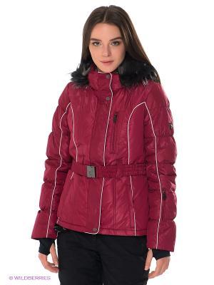 Куртка IGUANA. Цвет: темно-красный