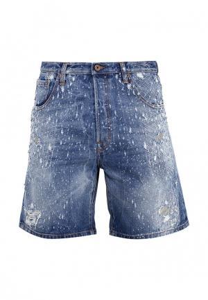 Шорты джинсовые Just Cavalli. Цвет: синий