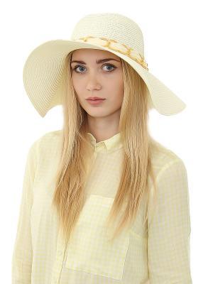 Шляпа Gusachi. Цвет: белый, золотистый
