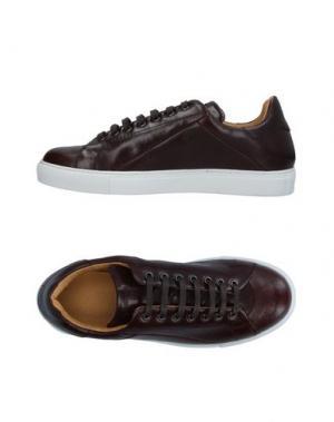 Низкие кеды и кроссовки MR.HARE. Цвет: темно-коричневый