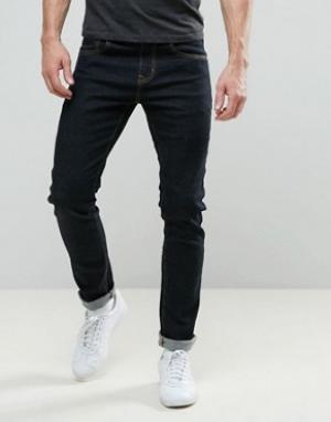 Always Rare Темные джинсы скинни Tyler. Цвет: черный