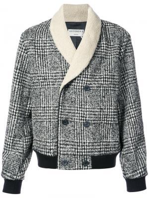Двубортная куртка Éditions M.R. Цвет: белый
