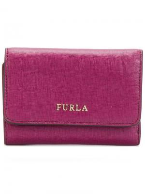 Складной кошелек Babylong Furla. Цвет: розовый и фиолетовый