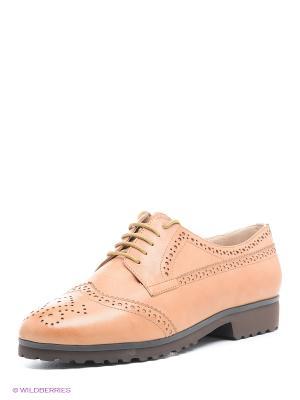 Туфли Moda Donna. Цвет: коричневый
