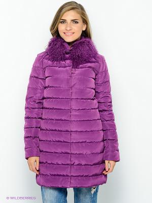 Пальто COMPAGNIA ITALIANA. Цвет: фиолетовый