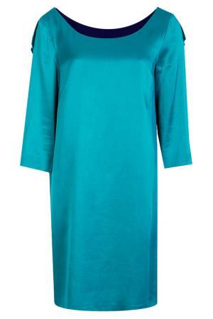 Платье Alberta Ferretti. Цвет: цветной