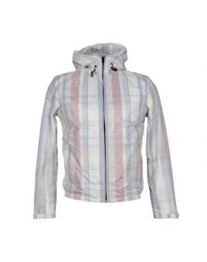 Куртка DAVID NAMAN. Цвет: светло-серый