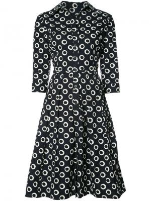 Платье Audrey Samantha Sung. Цвет: синий