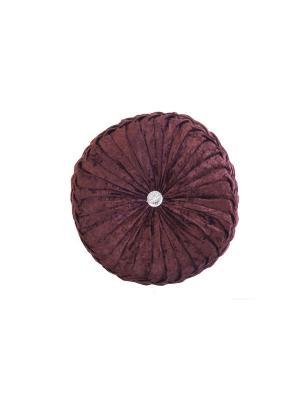 Декоративная подушка La Pastel. Цвет: коричневый
