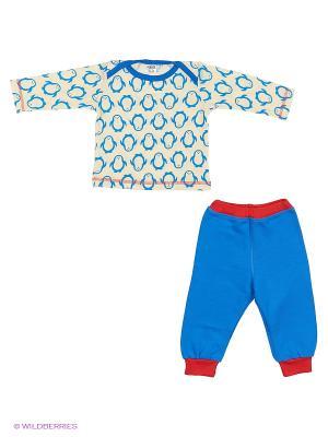 Комплект одежды Yallo Kids. Цвет: синий, красный, белый
