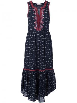 Платье Leena Ulla Johnson. Цвет: чёрный