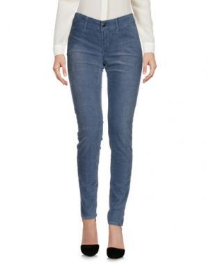 Повседневные брюки S.O.S by ORZA STUDIO. Цвет: грифельно-синий