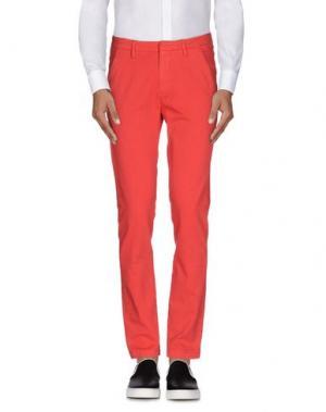 Повседневные брюки TRUE NYC.. Цвет: красный