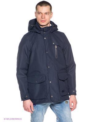 Пальто BUKOBA TEXAPORE COAT M Jack Wolfskin. Цвет: синий