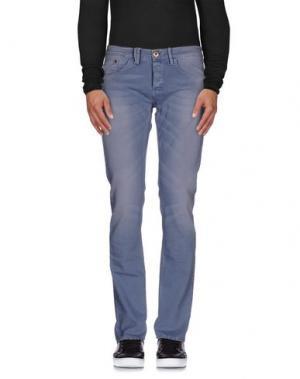 Джинсовые брюки (M) MAMUUT DENIM. Цвет: серый
