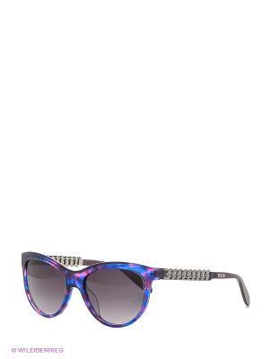 Солнцезащитные очки MO 775S 04 MOSCHINO. Цвет: фиолетовый