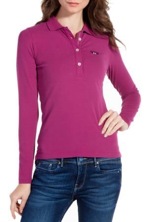 Рубашка-поло Galvanni. Цвет: fuchsia