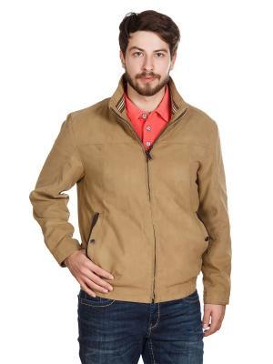 Куртка S4. Цвет: бежевый