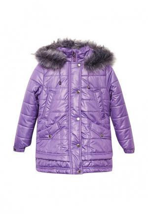 Куртка утепленная Saima. Цвет: фиолетовый