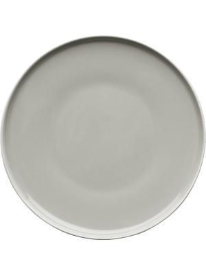 Тарелка Sagaform. Цвет: серый