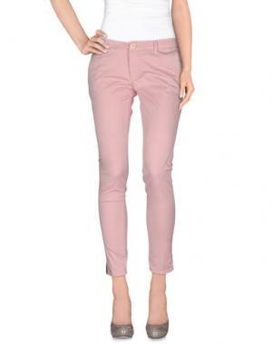 Повседневные брюки (+) PEOPLE. Цвет: розовый