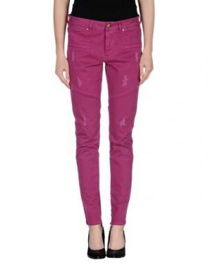 Повседневные брюки INTROPIA. Цвет: пурпурный