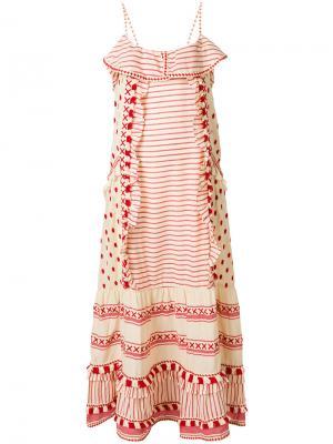 Платье Peeri Dodo Bar Or. Цвет: красный