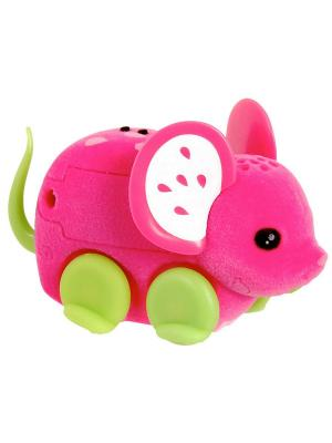 Интерактивная мышка Little Live Pets, клубничка Moose. Цвет: розовый