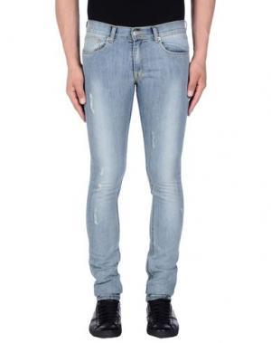 Джинсовые брюки HЁLLS BЁLLS. Цвет: синий