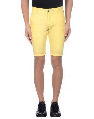 Бермуды FRANKLIN & MARSHALL. Цвет: желтый