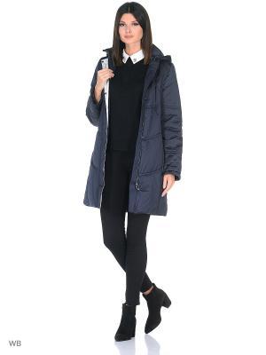 Пальто JATTA Maritta. Цвет: синий
