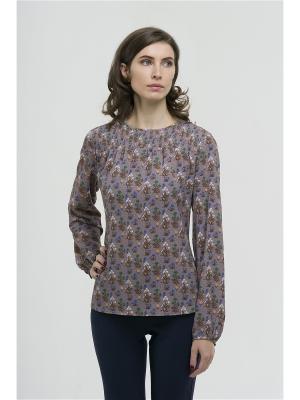 Блузка Modern. Цвет: сиреневый