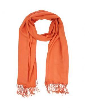 Палантин ENTRA'. Цвет: оранжевый