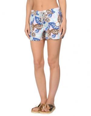 Пляжные брюки и шорты VILEBREQUIN. Цвет: лазурный